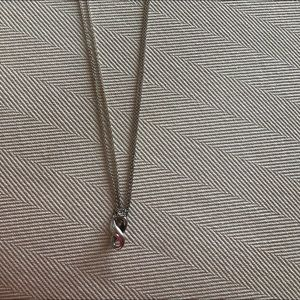 Authentic Tiffany Infinity Double Chain Necklace